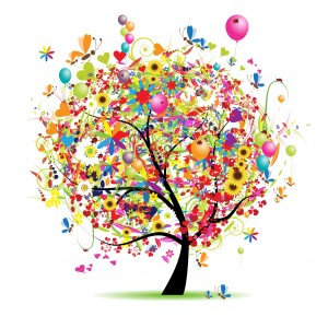 Picture of colorful tree.